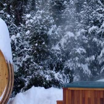 sauna-neige